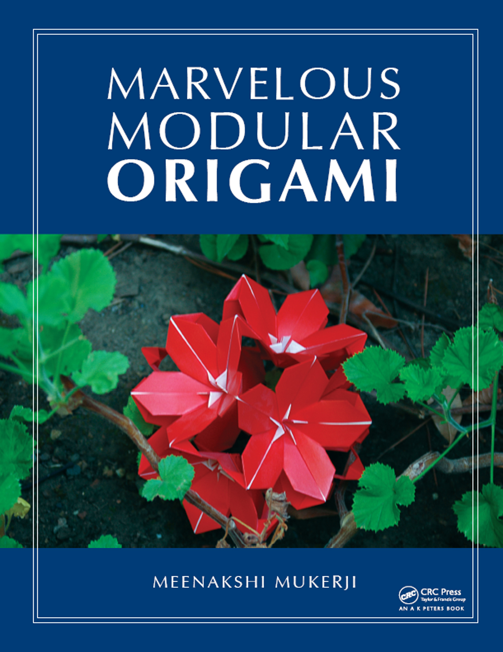 Marvelous Modular Origami: 1st Edition (Paperback) book cover