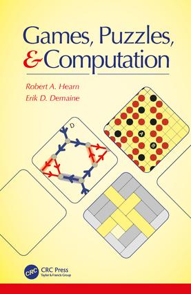 Games, Puzzles, and Computation (Hardback) book cover