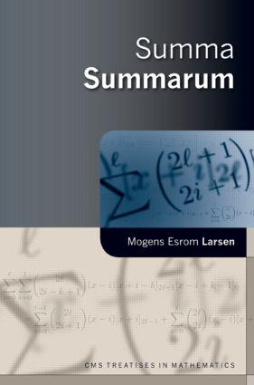 Summa Summarum: 1st Edition (Hardback) book cover