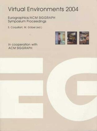 Virtual Environments 2004: 1st Edition (Paperback) book cover