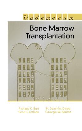 Bone Marrow Transplantation: 1st Edition (Paperback) book cover