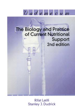 The Biology and Practice of Current Nutritional Support: 2nd Edition (Paperback) book cover