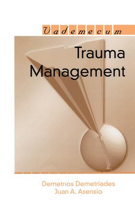 Trauma Management: 1st Edition (Paperback) book cover