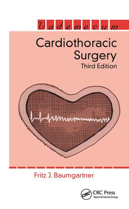 Cardiothoracic Surgery: 3rd Edition (Paperback) book cover