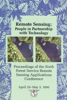 Remote Sensing: People in Partnership, Sixth Forest Service Conference, 1st Edition (Hardback) book cover