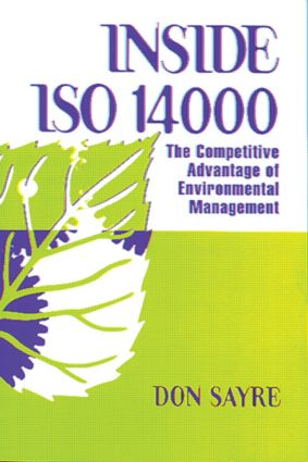INSDE ISO 14000: The Competitive Advantage of Environmental Management, 1st Edition (Paperback) book cover