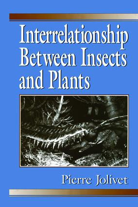 Interrelationship Between Insects and Plants: 1st Edition (Hardback) book cover