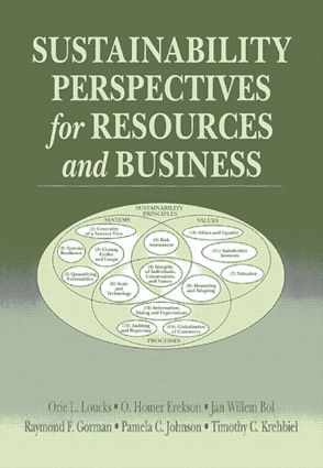 Sustainability Perspectives for Resources and Business: 1st Edition (Paperback) book cover