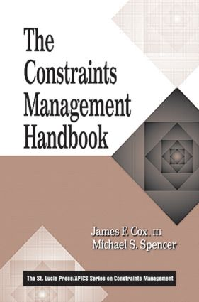 The Constraints Management Handbook (Hardback) book cover