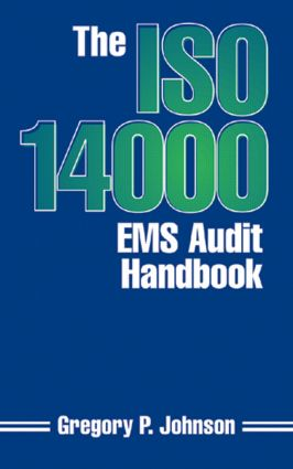 The ISO 14000 EMS Audit Handbook: 1st Edition (Hardback) book cover