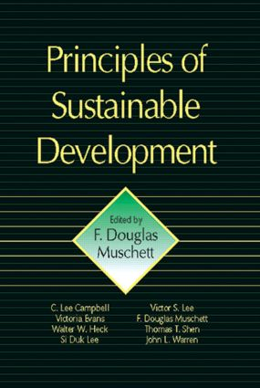 Principles of Sustainable Development: 1st Edition (Hardback) book cover