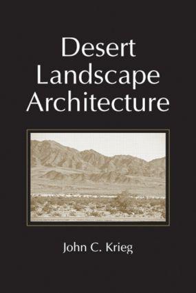 Desert Landscape Architecture (Hardback) book cover