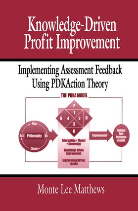 Knowledge-Driven Profit Improvement: Implementing Assessment Feedback Using PDKAction Theory, 1st Edition (Paperback) book cover