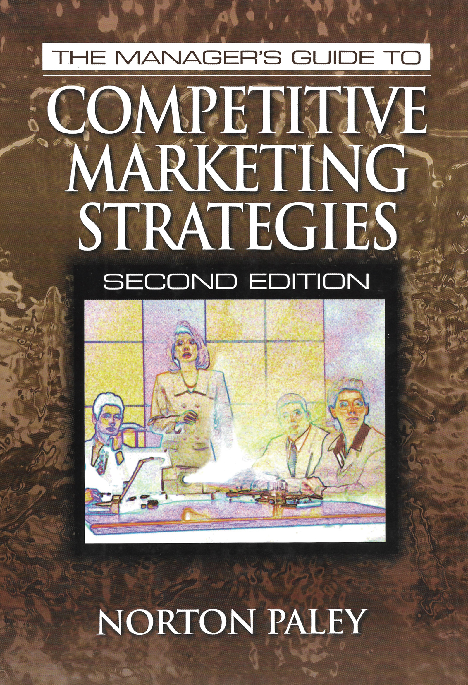 The Manager's Guide to Competitive Marketing Strategies, Second Edition: 2nd Edition (Hardback) book cover
