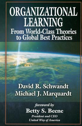 Organizational Learning: 1st Edition (Hardback) book cover