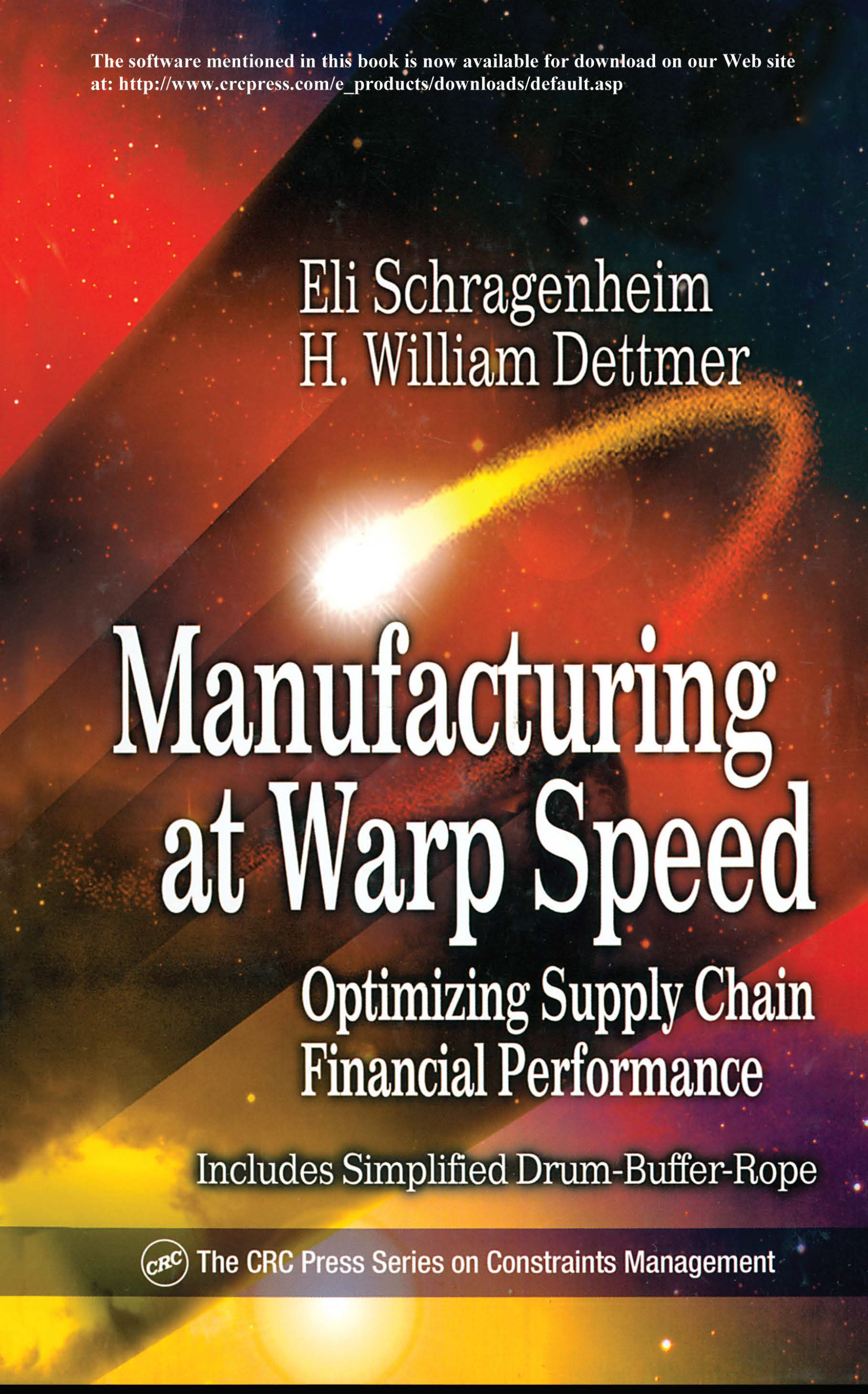 Manufacturing at Warp Speed: Optimizing Supply Chain Financial Performance book cover