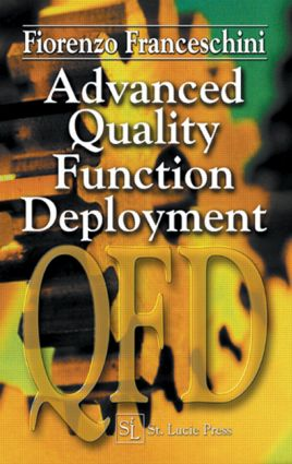 Advanced Quality Function Deployment: 1st Edition (Hardback) book cover