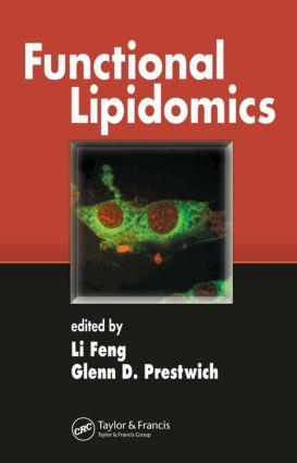 Functional Lipidomics: 1st Edition (Hardback) book cover