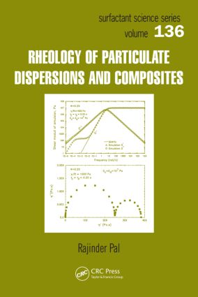 Rheology of Particulate Dispersions and Composites book cover