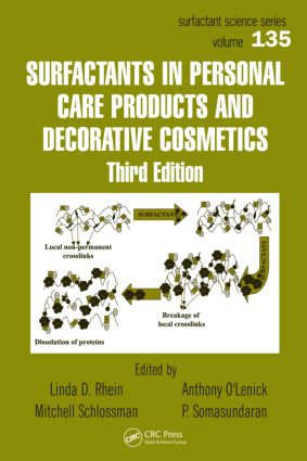 Surfactants in Personal Care Products and Decorative Cosmetics: 3rd Edition (Hardback) book cover