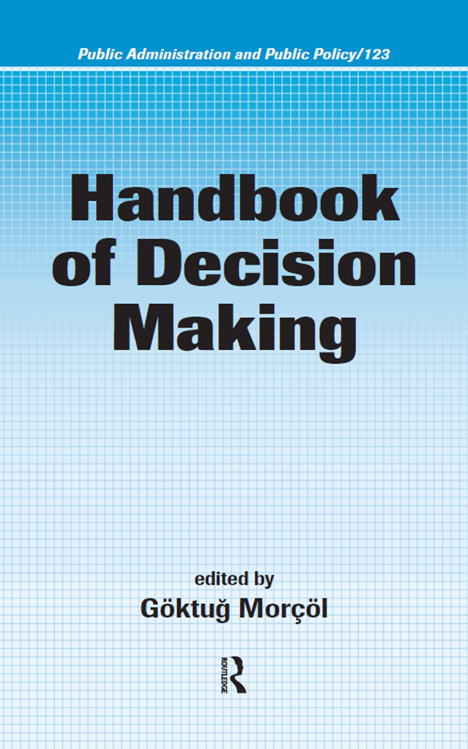 Handbook of Decision Making: 1st Edition (Hardback) book cover