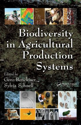 Biodiversity In Agricultural Production Systems: 1st Edition (Hardback) book cover