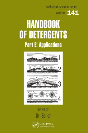 Handbook of Detergents, Part E: Applications book cover