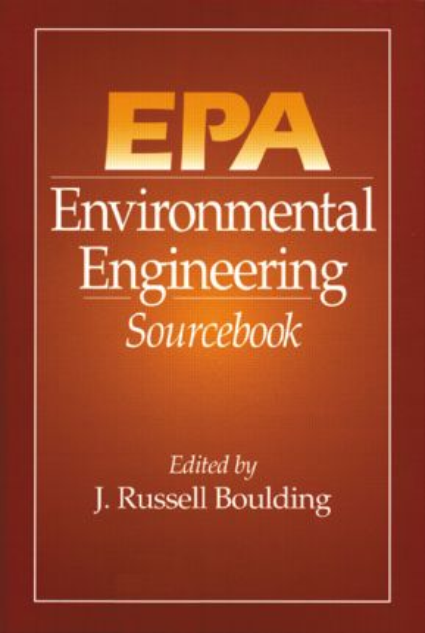 EPA Environmental Engineering Sourcebook: 1st Edition (Hardback) book cover