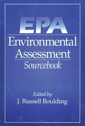 EPA Environmental Assessment Sourcebook: 1st Edition (Hardback) book cover