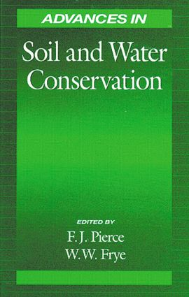Advances in Soil and Water Conservation: 1st Edition (Hardback) book cover
