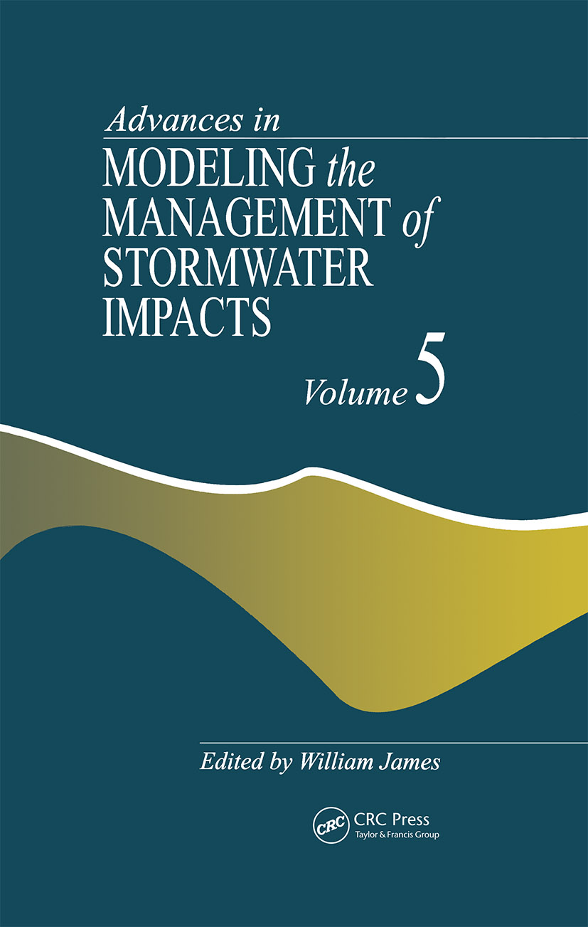 Advances in Modeling the Management of Stormwater Impacts: 1st Edition (Hardback) book cover