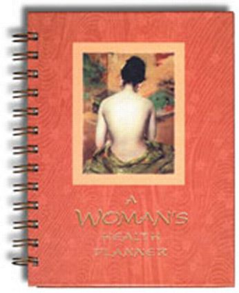 A Woman's Health Planner: 1st Edition (Hardback) book cover