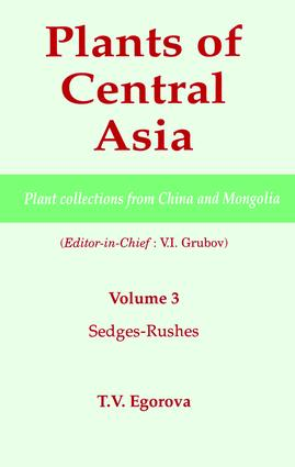 Plants of Central Asia - Plant Collection from China and Mongolia, Vol. 3: Sedges-Rushes book cover