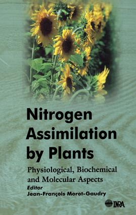 Nitrogen Assimilation by Plants: Physiological, Biochemical, and Molecular Aspects, 1st Edition (Hardback) book cover
