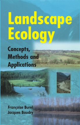 Landscape Ecology: Concepts, Methods, and Applications, 1st Edition (Paperback) book cover