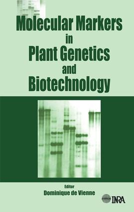 Molecular Markers in Plant Genetics and Biotechnology: 1st Edition (Hardback) book cover