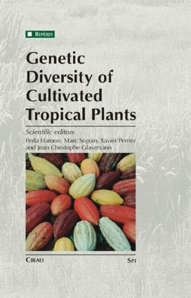 Genetic Diversity of Cultivated Tropical Plants: 1st Edition (Hardback) book cover