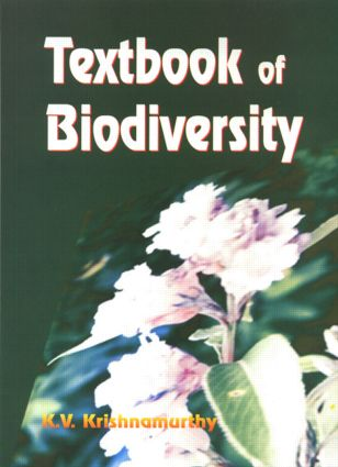 Textbook of Biodiversity: 1st Edition (Paperback) book cover