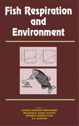 Fish Respiration and Environment: 1st Edition (Hardback) book cover