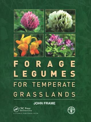 Forage Legumes for Temperate Grasslands (Paperback) book cover