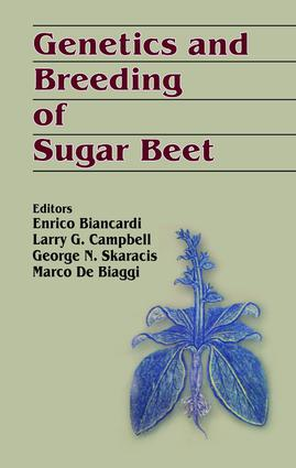 Genetics and Breeding of Sugar Beet: 1st Edition (Hardback) book cover