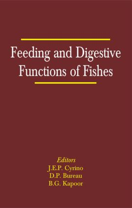 Feeding and Digestive Functions in Fishes: 1st Edition (Hardback) book cover