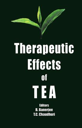 Therapeutic Effects of Tea: 1st Edition (Hardback) book cover