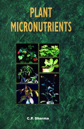 Plant Micronutrients: 1st Edition (Hardback) book cover