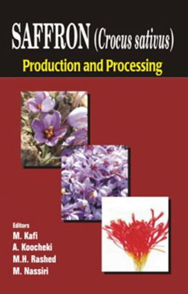 Saffron (Crocus sativus): Production and Processing, 1st Edition (Hardback) book cover