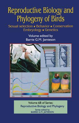 Reproductive Biology and Phylogeny of Birds, Part B: Sexual Selection, Behavior, Conservation, Embryology and Genetics: 1st Edition (Hardback) book cover