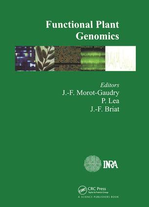 Functional Plant Genomics: 1st Edition (Hardback) book cover