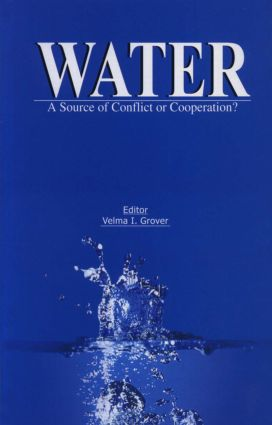 Water: A Source of Conflict or Cooperation?, 1st Edition (Hardback) book cover