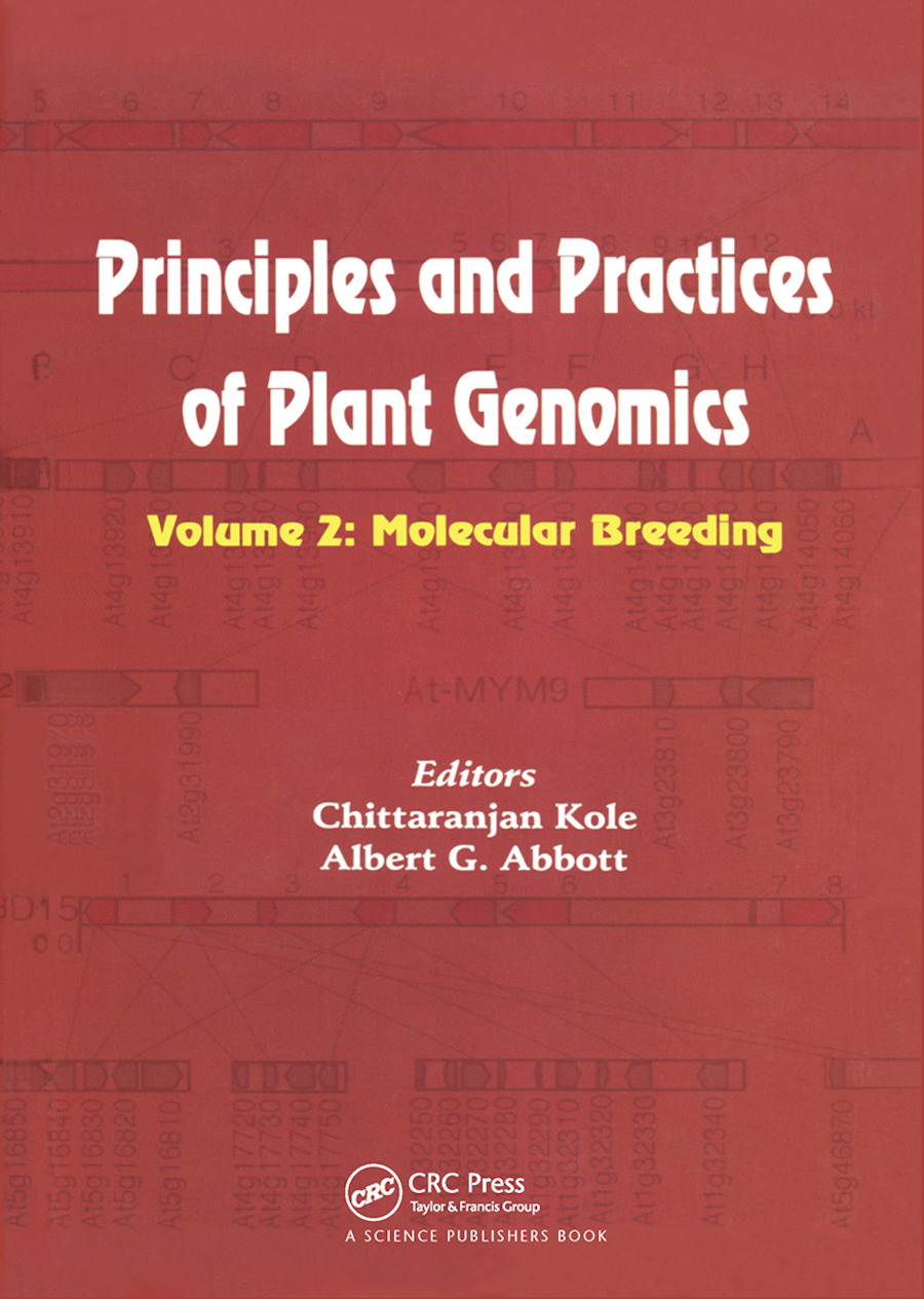 Principles and Practices of Plant Genomics, Vol. 2: Molecular Breeding, 1st Edition (Hardback) book cover