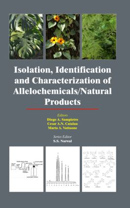 Isolation, Identification and Characterization of Allelochemicals/ Natural Products: 1st Edition (Hardback) book cover